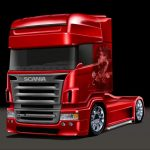 scania_r164_toon_by_lindstyling