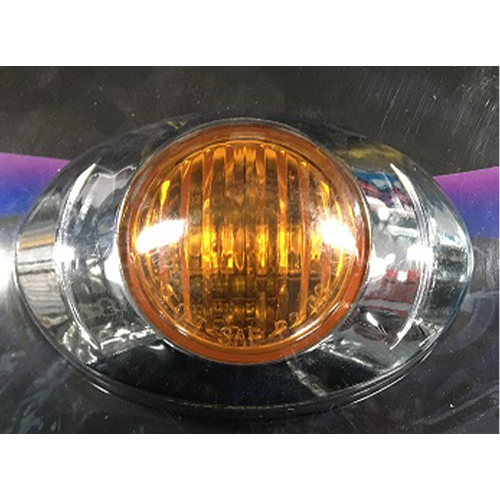 LED 12V AMBER EGG SHAPE
