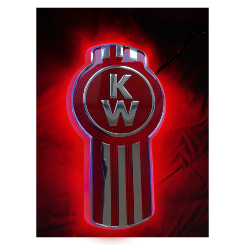 LED Backlight Kenworth Front Red