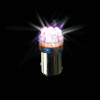 LED Globe 12 Volt Clear 8 Diode