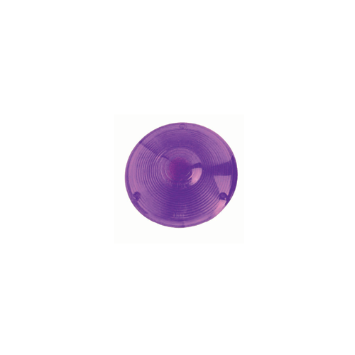 Lens Replacement Plastic 4 Inch Round Purple
