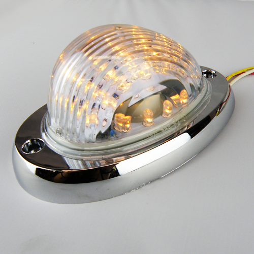 LED Light Indicator Clear/Amber