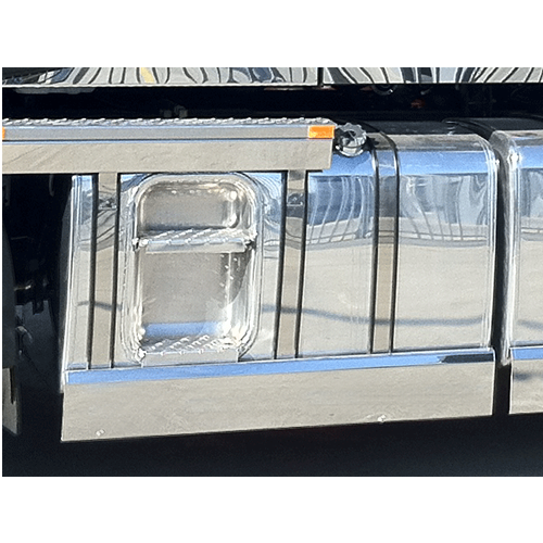 Stainless Steel Tank Skirt Square 950MM Single 280 Liter Iveco