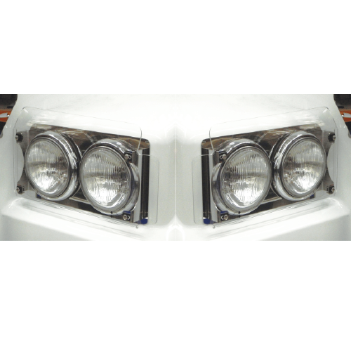 Plastic Headlight Covers Suit Western Star/Kenworth Pair