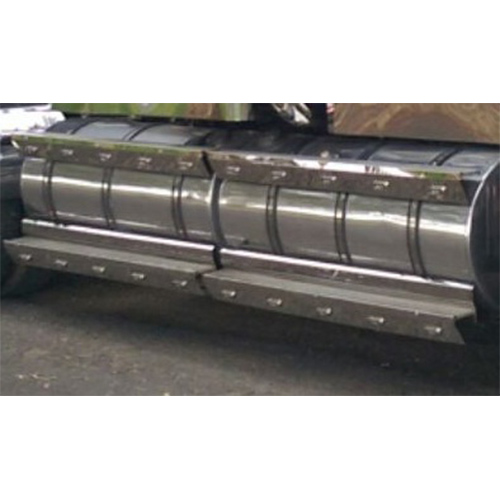 Stainless Steel Tank Skirt Round 895mm Bottom Inner Single Freightliner/Kenworth/Iveco
