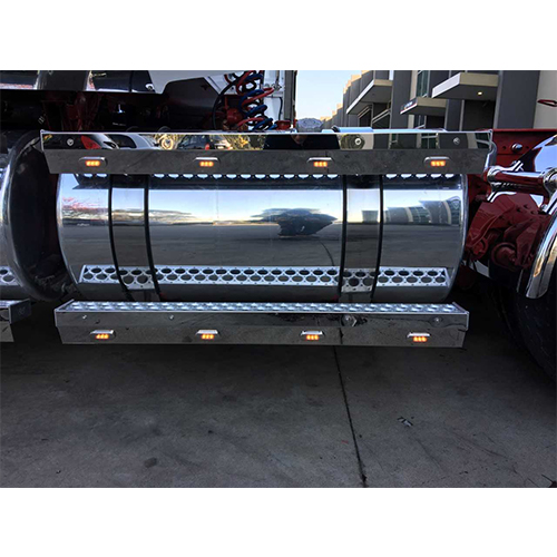 Stainless Steel Tank Skirt Jay Bracket 1120mm Single Freightliner/Kenworth/Iveco/Westerstar